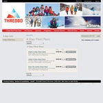 Thredbo 4 Day Flexi Pass $349 - 4 Day Sale