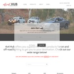 4x4 Hub Lighting and Accessories 10% off Introduction Rate