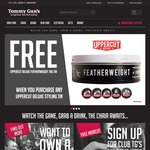 Free Uppercut Deluxe Featerweight Tin with another Uppercut Purchase @ Tommy Gun's