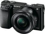 Sony A6000 with 16-50mm Lens Kit $683 + Bonus $100 EFTPOS Card. Sony HX90V $365 + $50 EFTPOS @ TheGoodGuys eBay