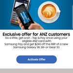 Samsung Galaxy S8 $959, S8+ $1109 or Gear S3 $359 ($240 off RRP) with Samsung Pay through Eligible ANZ Card