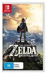 The Legend of Zelda: Breath of The Wild - Switch $70.3 Click and Collect Only @ Target eBay