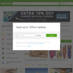 Extra 15% off Sitewide @ Groupon (Vaya 3x 30 Day Unlimited $7.65/$12.75)