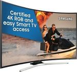 Samsung UA65MU6300WXXY 65'' Curved UHD HDR LED LCD Smart TV  $1,756.00 + Postage @ The Good Guys eBay