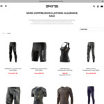 Skins 40% off Discounted Items (Free Delivery above $100) Limited Sizes