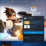 Overwatch PC - Standard $29.95, GOTY $44.95 from Battle.net (AUD)