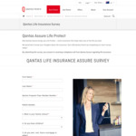 FREE 200 QFF Points from Completing Qantas Life Insurance Survey