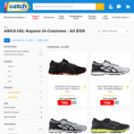 ASICS GEL-Kayano 24 for $159 + Shipping @ Catch