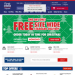 Free Delivery Minimum Spend $20 @ First Choice Liquor