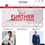 50% off Sale @ T M Lewin, 4 Shirts from $110