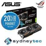 Asus ASUS ROG Strix GTX 1080 8GB Graphics Card STRIX-GTX1080-A8G-GAMING $799.20 @ eBay Sydneytec