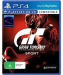 [PS4] Gran Turismo GT Sport $19 (Was $99) @ JB Hi-Fi & Target