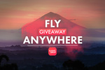 Win a Free Flight Anywhere from Flight Drop