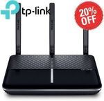 TP-Link Archer VR600 AC1600 VDSL/ADSL Modem Router $143.20 (Was $179) Delivered @ Shopping Express Clearance eBay