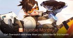 Humble Monthly Bundle (October 2018) Includes Overwatch Standard Edition PC for USD $12 (AUD $16.90)