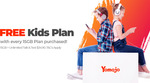 Yomojo FREE KIDS PLAN 1GB + 200 Min Talk & Text Plus FREE Yomojo to Yomojo Calls When You Purchase a 15GB Plan @ $34.90