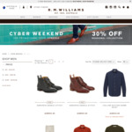 Cyber Weekend Sale - 30% off Seasonal Collection @ R. M. Williams