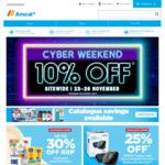 Black Friday 10% off Amcal.com.au 23rd - 26th November
