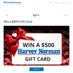 Win 1 of 5 $500 Harvey Norman Gift Cards from SkoolBag