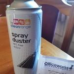 [TAS] Compressed Air 400ml (Spray Duster) $3 @ Officeworks Hobart