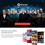 30 Days Free Trial @ 10 All Access (Channel 10 and CBS New Streaming Service)