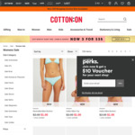 Cotton on Various Women Items on Sale (Eg Tube Bandeau @ $2 - 80% Discount)