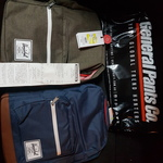 2x Herschel Pop Quiz Backpacks for $85 @ General Pants Co