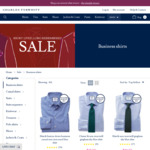 Charles Tyrwhitt Shirts $39 Each + Delivery | 3 Shirts for $119.95 Delivered with $10 Code