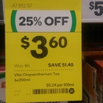 [VIC] Vita Lemon Tea 250ml (Pack of 6) and Other Vita Beverages $3.6 @ Woolworths, Fitzroy and Preston South