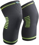 SABLE Knee Brace Support Compression Sleeves (S, M, L, XL Sizes) $9.99, Patella Straps $11.99 + Post (Free $49+/Prime) @ Amazon