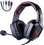 ONIKUMA K8 Gaming Headset w/ Noise Cancelling Mic Nintendo Switch, PS4, XB1 $23.99 Free Ship w/Prime @ Youngpioneer Amazon AU
