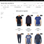 2 for $60 on All Superdry Clothing at David Jones