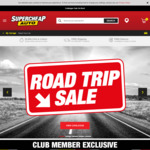 Spend $60 or More to Get $10 Credit or Spend $100 or More to Get $20 Credit @ Supercheap Auto for Club Members