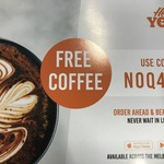[VIC] Free Coffee from Hey You App (New Users Only, Melbourne)