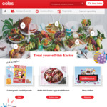 $10 off $100+ Spend @ Coles Online