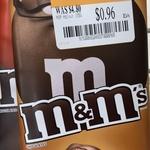 [ACT] M&M's Chocolate Blocks 155g $0.96 @ Big W Majura Park