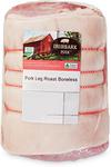 Ironbark Boneless Pork Leg Roast $5.99 Per kg (Was $7.99) @ ALDI