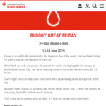 [NSW, VIC, QLD] Free Kebab (10pm - 3am) + Other Freebies When You Donate Blood @ Red Cross (13-14 June)