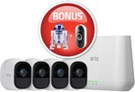 Arlo Pro 2 VMS4330P+ Bonus Star Wars R2-D2 $754.59, Arlo Pro 2 VMS4430P+Star Wars R2-D2+Doorbell $976.65 Delivered @ Wireless1