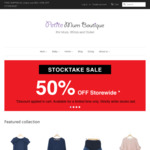 50% off Sitewide Petite Size Maternity Clothing & Baby Socks @ Petite Mum Boutique
