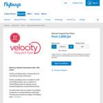 15% Bonus Velocity Points When Transferring from Flybuys