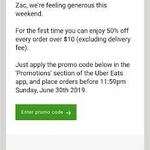 Uber Eats: Deals, Coupons and Vouchers - OzBargain