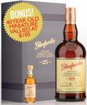 Glenfarclas 25yo Single Malt Scotch Whisky + Bonus 40yo Miniature $199.99 + Postage (Free over $200) (RRP $259.99) @ Nicks
