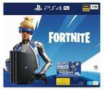 [eBay Plus] PS4 Pro 1TB Console Fortnite Neo Versa Bundle $424.15 Delivered @ Big W eBay
