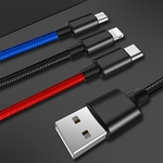 3 in 1 USB Fast Charging Type C/Micro USB, Lighting US $4.99 (~AU $7.44) @ Tmart