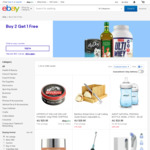 Buy Two Get One Free for Selected Sellers (Max Discount $50) @ eBay Australia
