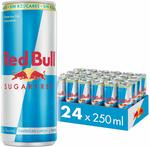 Red Bull Energy Drink Sugar Free 24 Pack of 250ml $30.60 + Delivery ($0 with Prime/ $39 Spend) @ Amazon AU
