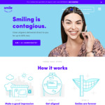 $25 Pre-Paid Mastercard & $150 off Aligners after Consultation @ SmileDirectClub
