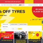 10% off Tyres @ Jax Tyres (Online Only)