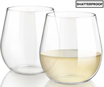 Mia Unbreakables Shatterproof Stemless Wine Glasses 2pk $12.99 + Shipping @ Catch